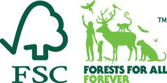 We have obtained FSC® CoC Certification